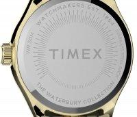 Timex TW2T86600 zegarek złoty klasyczny Waterbury bransoleta