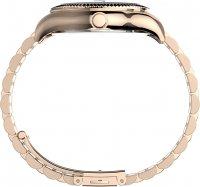 Timex TW2T86800 zegarek różowe złoto klasyczny Waterbury bransoleta