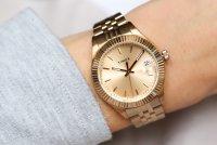 Timex TW2T86800 zegarek damski klasyczny Waterbury bransoleta