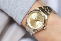 zegarek Timex TW2T86900 złoty Waterbury