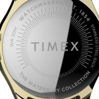 Timex TW2T87100 zegarek złoty klasyczny Waterbury bransoleta