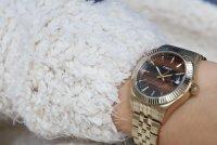 zegarek Timex TW2T87100 złoty Waterbury
