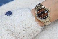 Timex TW2T87100 Waterbury Waterbury zegarek damski klasyczny mineralne