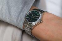 Timex TW2T87200 zegarek srebrny klasyczny Waterbury bransoleta