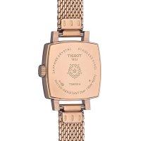 Tissot T058.109.33.456.00 zegarek różowe złoto elegancki Lovely bransoleta