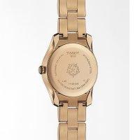 Tissot T112.210.33.111.00 zegarek różowe złoto klasyczny T-Wave bransoleta