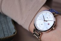 zegarek Tommy Hilfiger 1782124 różowe złoto Damskie