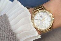 zegarek Tommy Hilfiger 1782142 złoty Damskie