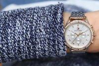 Tommy Hilfiger 1782143 Damskie klasyczny zegarek różowe złoto