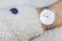 Tommy Hilfiger 2770055 Zegarek Kelly w zestawie z kolczykami Damskie klasyczny zegarek różowe złoto