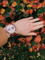 Vostok Europe VK64-515E567 Undine Undine Chrono zegarek damski sportowy mineralne utwardzane