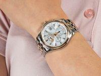 Zegarek damski z chronograf Citizen Ecodrive FC0014-54A - duże 6