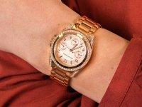 Zegarek damski z chronograf Michael Kors Mini Blair MK5613 MINI BLAIR - duże 6