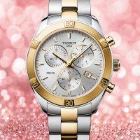 zegarek Tissot T101.917.22.031.00 PR 100 SPORT CHIC CHRONOGRAPH damski z chronograf PR 100