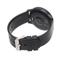 zegarek Garett 5903246288872 Smartwatch Garett Lady Rosa czarny damski z krokomierz Damskie