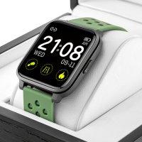 Rubicon RNCE58BINX03AX zegarek czarny sportowy Smartwatch pasek