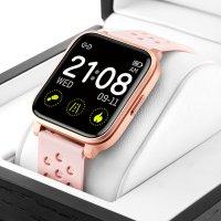 Zegarek damski z krokomierz  Smartwatch RNCE58RIBX03AX - duże 7