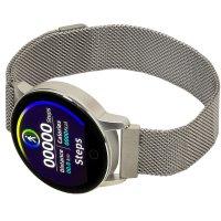 Garett 5903246286311 zegarek srebrny sportowy Damskie bransoleta