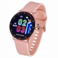 Garett 5903246286526 Smartwatch Garett Lady Lira różowy Damskie sportowy zegarek różowe złoto