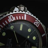 zegarek Davosa 161.525.65S srebrny Diving