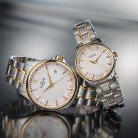 Davosa 168.588.15 zegarek srebrny klasyczny Ladies bransoleta