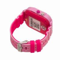 zegarek Garett 5903246284669 Smartwatch Garett Kids 4G różowy dla dzieci z gps Dla dzieci
