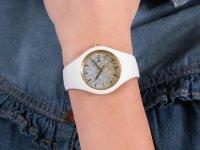 Zegarek dla dzieci fashion/modowy ICE Watch ICE-Lo ICE.013428 ICE lo White Gold rozm. S szkło mineralne - duże 6