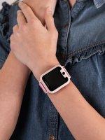 zegarek Garett 5903246281989 Smartwatch Garett Kids Nice różowy dla dzieci z gps Dla dzieci