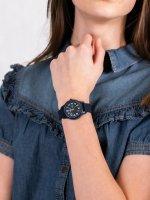 Lacoste 2030002 zegarek niebieski klasyczny Męskie pasek