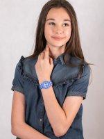 Zegarek dla dzieci klasyczny Timex Weekender TW2T65800 szkło akrylowe - duże 4
