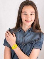Zegarek dla dzieci klasyczny Timex Weekender TW2T65900 szkło akrylowe - duże 4