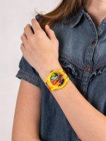 Zegarek dla dzieci QQ Smile RP00-025 - duże 5