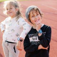 Zegarek dla dzieci sportowy Garett Dla dzieci 5903246282900 Smartwatch Garett GPS Junior 2 Różowy szkło mineralne - duże 10
