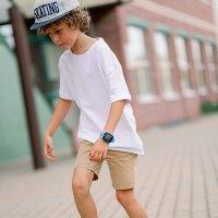 Zegarek dla dzieci z gps Garett Dla dzieci 5903246280555 Smartwatch Garett Kids Happy Niebieski - duże 9