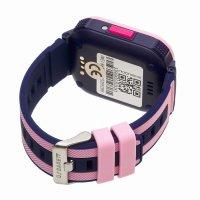 zegarek Garett 5903246286878 kwarcowy dla dzieci Dla dzieci Smartwatch Garett Kids 4You różowy