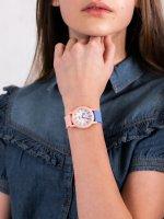 Zegarek dla dziewczynki QQ Damskie VS49-002 - duże 5