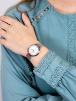 Bisset BSBE92SISX03BX damski zegarek Klasyczne bransoleta