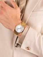 Zegarek elegancki Bisset Klasyczne BSDD17GASX05BX Elegance - duże 5