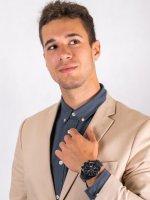 Zegarek elegancki Festina Chronograf F16887-1 - duże 4