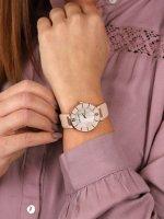Anne Klein AK-3272RGLP damski zegarek Pasek pasek