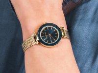 Zegarek fashion/modowy Anne Klein Bransoleta AK-1906NVGB - duże 6