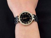 Zegarek fashion/modowy Anne Klein Bransoleta AK-2130BKGB - duże 6