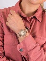 Zegarek fashion/modowy Anne Klein Bransoleta AK-2130TNGB - duże 5
