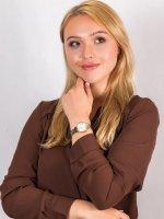 Anne Klein AK-2159SVTT zegarek damski Bransoleta