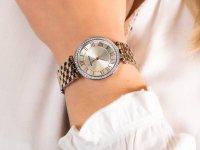 Zegarek fashion/modowy Anne Klein Bransoleta AK-2231SVRT - duże 6