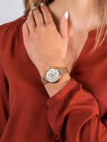 Zegarek fashion/modowy Anne Klein Bransoleta AK-3102MPGB - duże 5