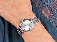Zegarek fashion/modowy Anne Klein Bransoleta AK-3279SVSV - duże 6