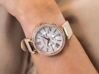 Zegarek fashion/modowy Caravelle Pasek 44N105 - duże 6