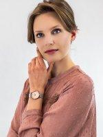 Zegarek fashion/modowy Cluse Minuit CW0101203029 Silver Rose Gold - duże 4