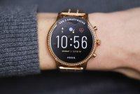 zegarek Fossil Smartwatch FTW6035 różowe złoto Fossil Q